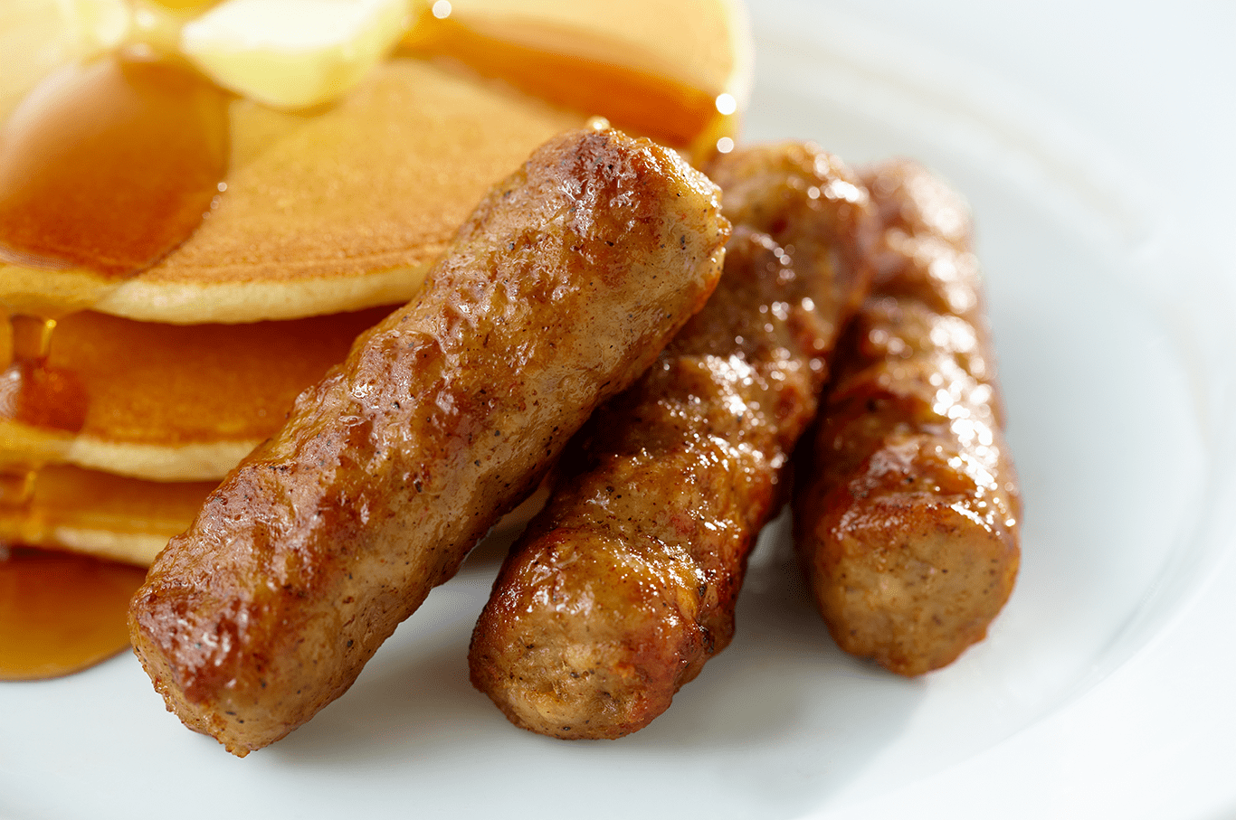 Perfect breakfast sausages